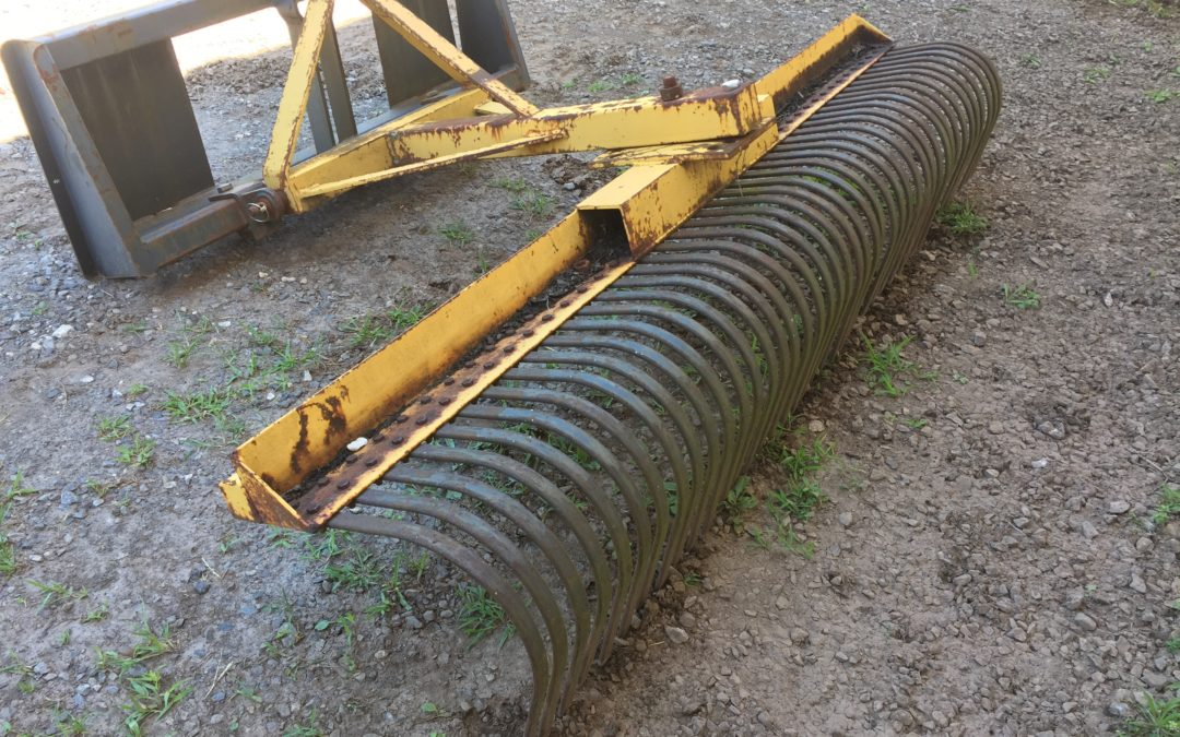 Rake with 3 Point Hitch